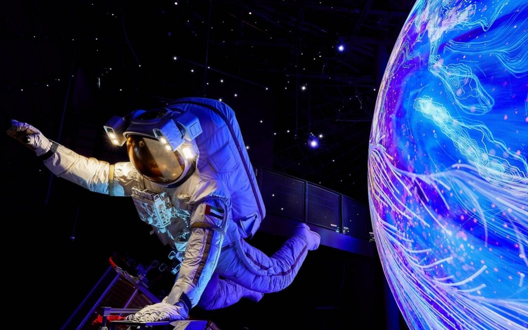 Alif流动性展馆将带领游客穿越时空,从发掘历史文明到虚拟未来
